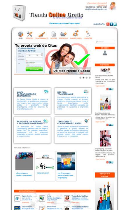 Tienda Online Gratis