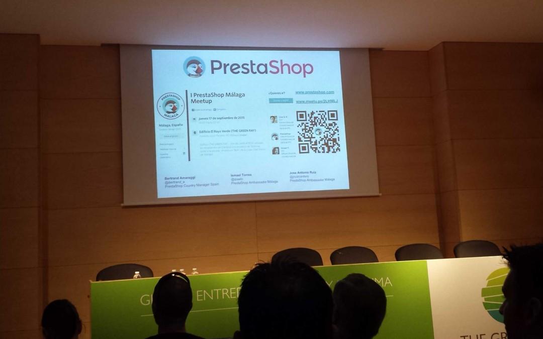 I PrestaShop Málaga Meetup